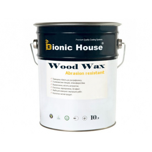 Акриловая эмульсия с воском Wood Wax Bionic House Коньяк LUC - изображение 3 - интернет-магазин tricolor.com.ua