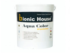 Акриловая лазурь Aqua color – UV protect Bionic House Махагон LUC - изображение 3 - интернет-магазин tricolor.com.ua