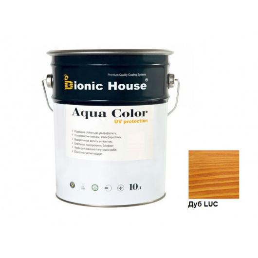 Акриловая лазурь Aqua color – UV protect Bionic House Дуб LUC - интернет-магазин tricolor.com.ua