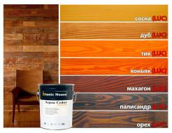 Акриловая лазурь Aqua color – UV protect Bionic House Орех LUC - изображение 4 - интернет-магазин tricolor.com.ua