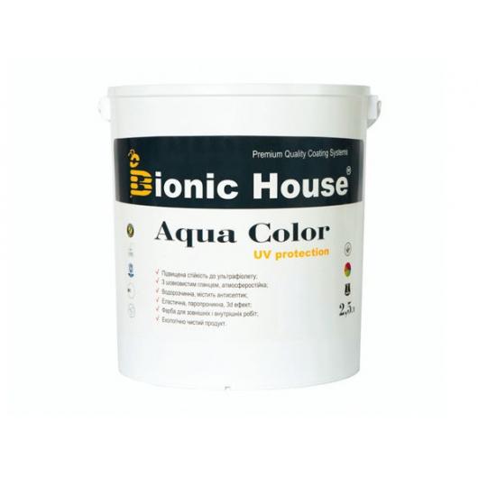 Акриловая лазурь Aqua color – UV protect Bionic House Коньяк LUC - изображение 3 - интернет-магазин tricolor.com.ua