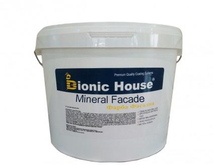 Краска фасадная Bionic House Mineral Facade водно-дисперсионная паропроницаемая - интернет-магазин tricolor.com.ua