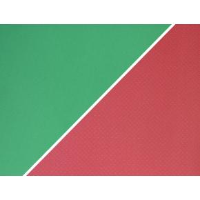 Коврик-каремат Izolon Tourist 12 180х60 красно-бело-зеленый