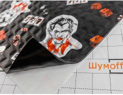 Вибропоглощающий материал для авто Шумофф Joker Black 0,37*0,27м - изображение 2 - интернет-магазин tricolor.com.ua