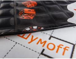 Вибропоглощающий материал для авто Шумофф Joker Black 0,37*0,27м - изображение 4 - интернет-магазин tricolor.com.ua