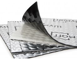 Вибропоглощающий материал для авто Шумофф Проф Ф 0,37*0,27м - изображение 2 - интернет-магазин tricolor.com.ua