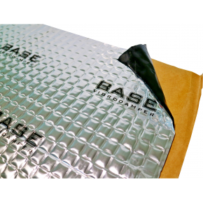 Вибропоглощающий материал для авто Base B1 самоклейка 0,75*0,47м - интернет-магазин tricolor.com.ua