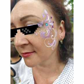 Аквагрим гипоаллергенный Tricolor - 06 фиолетовый - изображение 4 - интернет-магазин tricolor.com.ua