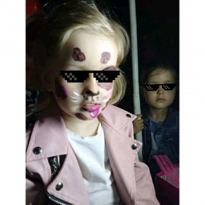 Аквагрим гипоаллергенный Tricolor - 08 розовый - изображение 8 - интернет-магазин tricolor.com.ua
