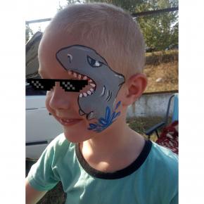 Аквагрим гипоаллергенный Tricolor - 10 малиновый - изображение 4 - интернет-магазин tricolor.com.ua