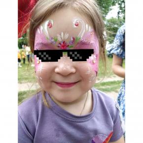 Аквагрим гипоаллергенный Tricolor - 10 малиновый - изображение 10 - интернет-магазин tricolor.com.ua