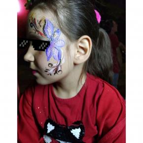 Аквагрим гипоаллергенный Tricolor - 10 малиновый - изображение 24 - интернет-магазин tricolor.com.ua