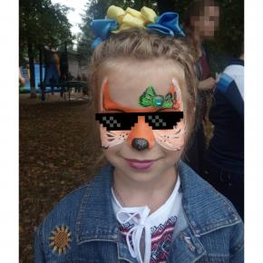 Аквагрим гипоаллергенный Tricolor - 10 малиновый - изображение 22 - интернет-магазин tricolor.com.ua