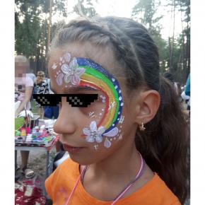 Аквагрим гипоаллергенный Tricolor - 10 малиновый - изображение 23 - интернет-магазин tricolor.com.ua