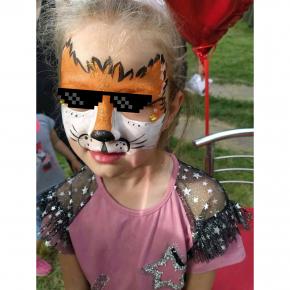 Аквагрим гипоаллергенный Tricolor - 10 малиновый - изображение 25 - интернет-магазин tricolor.com.ua