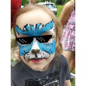 Аквагрим гипоаллергенный Tricolor - 22 синий - изображение 18 - интернет-магазин tricolor.com.ua