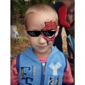 Аквагрим гипоаллергенный Tricolor - 28 красный - изображение 17 - интернет-магазин tricolor.com.ua