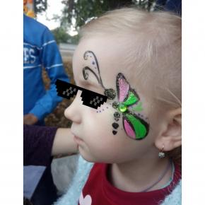 Аквагрим гипоаллергенный Tricolor - 30 коричневый - изображение 9 - интернет-магазин tricolor.com.ua