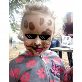 Аквагрим гипоаллергенный Tricolor - 30 коричневый - изображение 20 - интернет-магазин tricolor.com.ua