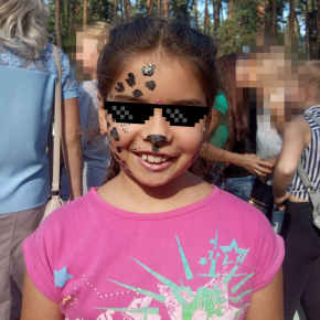 Аквагрим гипоаллергенный Tricolor - 30 коричневый - изображение 6 - интернет-магазин tricolor.com.ua