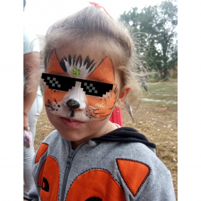 Аквагрим гипоаллергенный Tricolor - 32 оранжевый - изображение 20 - интернет-магазин tricolor.com.ua