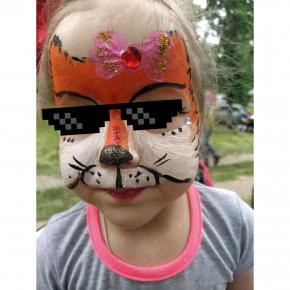 Аквагрим гипоаллергенный Tricolor - 32 оранжевый - изображение 13 - интернет-магазин tricolor.com.ua