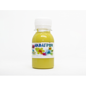 Аквагрим гипоаллергенный Tricolor - 34 желтый - интернет-магазин tricolor.com.ua