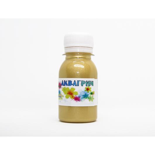 Аквагрим металлик гипоаллергенный Tricolor - 24 светлое золото (металлик) - интернет-магазин tricolor.com.ua