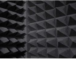 Стыковочный элемент Стык 5х5х100 см для акустического поролона черный графит - изображение 2 - интернет-магазин tricolor.com.ua