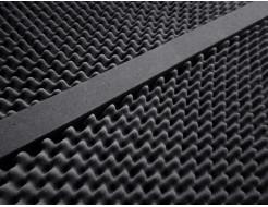Стыковочный элемент Стык 5х5х100 см для акустического поролона черный графит - изображение 3 - интернет-магазин tricolor.com.ua