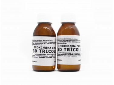 Ювелирная эпоксидная смола 3D Tricolor
