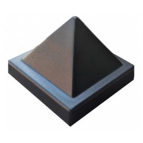 Форма шапка для столба №4 Пирамида 16х16 АБС MF - интернет-магазин tricolor.com.ua