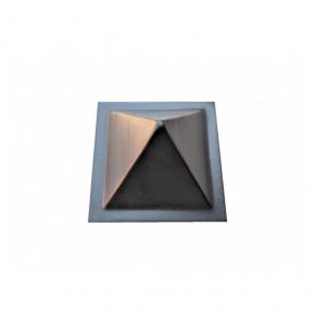 Форма шапка для столба №4 Пирамида 16х16 АБС MF - изображение 3 - интернет-магазин tricolor.com.ua