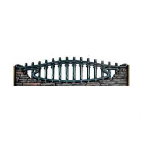 Форма для забора №151 стеклопластик MF 65х200 см