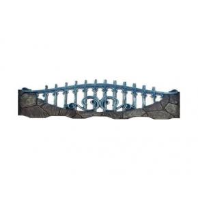 Форма для забора №172 стеклопластик MF 65х200 см