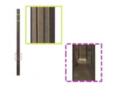 Форма столба №1 Гладкий 1 секция стеклопластик MF 280