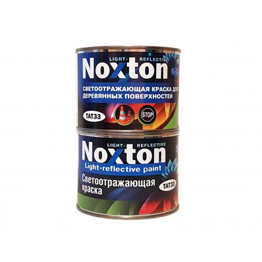 Светоотражающая краска для деревянных поверхностей NoxTon зеленая - интернет-магазин tricolor.com.ua