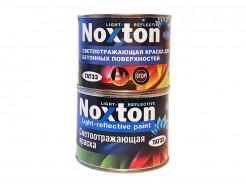 Светоотражающая краска для бетонных поверхностей NoxTon зеленая - интернет-магазин tricolor.com.ua