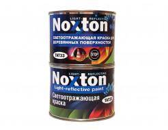 Светоотражающая краска для деревянных поверхностей NoxTon красная - интернет-магазин tricolor.com.ua