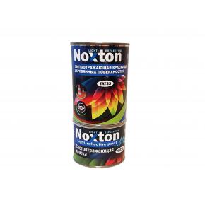 Светоотражающая краска для деревянных поверхностей NoxTon красная - изображение 4 - интернет-магазин tricolor.com.ua