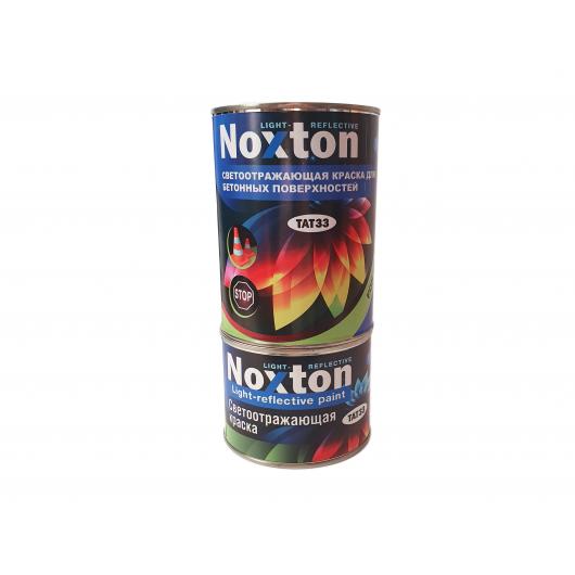 Светоотражающая краска для бетонных поверхностей NoxTon красная - изображение 4 - интернет-магазин tricolor.com.ua