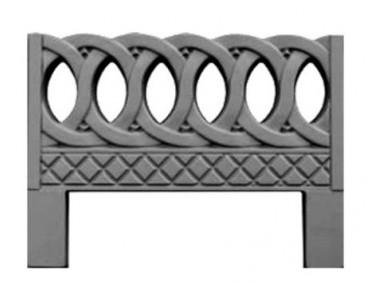 Форма оградки №6 АБС MF 80х60х4 см