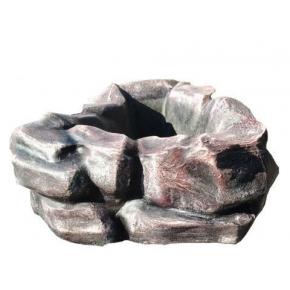 Форма вазы Каменный цветок стеклопластик MF H-27