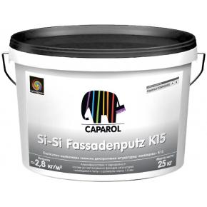 Штукатурка силикат-силиконовая камешковая Capatect Standard Si-Si Fassadenputz K15, B1