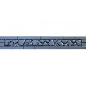 Форма для забора №79 АБС BF 30х200 см