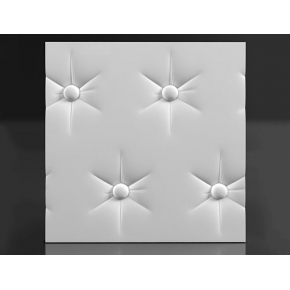 Форма 3Д панель №3 50х50 см АБС BF - изображение 2 - интернет-магазин tricolor.com.ua