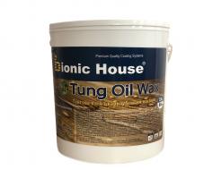 Масло тунговое с карнаубским воском Hard Tung oil Bionic House - интернет-магазин tricolor.com.ua
