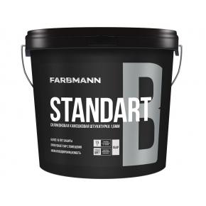 Штукатурка декоративная силикон-модифицированная Farbmann Standart B Барашек база LC - интернет-магазин tricolor.com.ua
