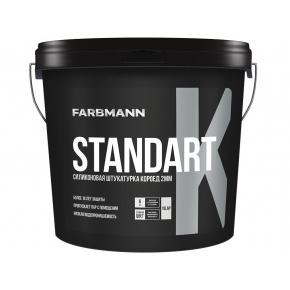 Штукатурка декоративная силикон-модифицированная Farbmann Standart K Короед база LC - интернет-магазин tricolor.com.ua