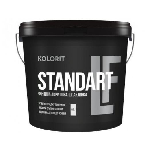 Шпаклевка акриловая Kolorit Standart LF финишная